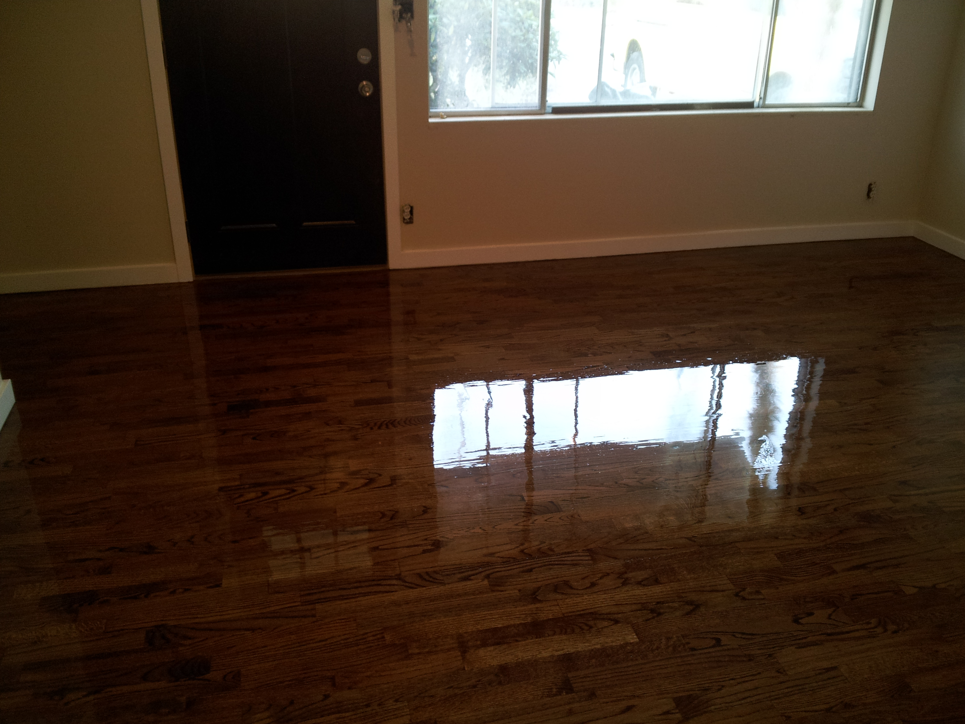 modern wood floors renton medium brown rental 1 modern wood floors