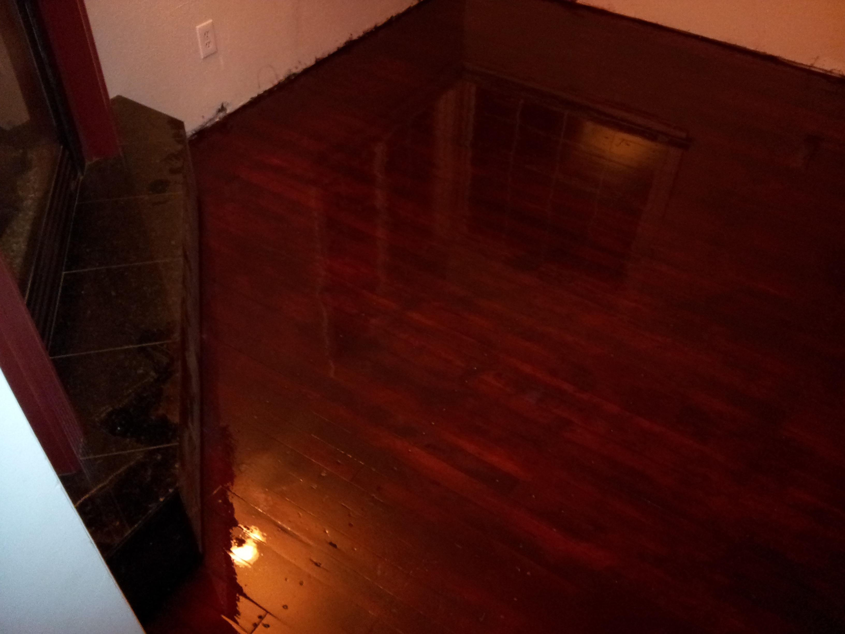 Rustic red fir floor hardwood floors northwest hardwood for Rustic red oak flooring